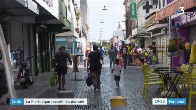 Covid-19 : la Martinique se reconfine pour trois semaines