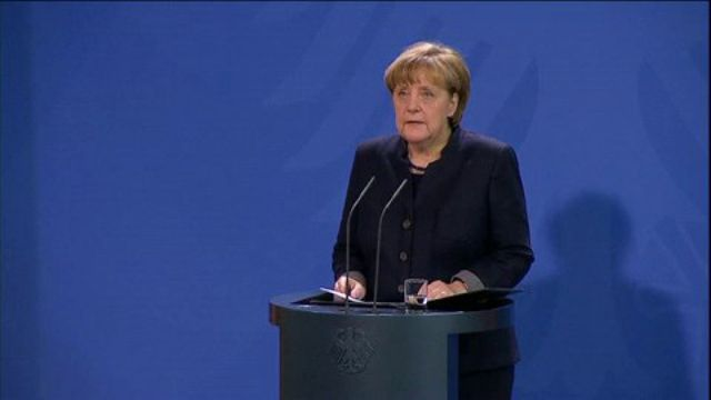 Le discours d'Angela Merkel au lendemain de l'attaque à Berlin
