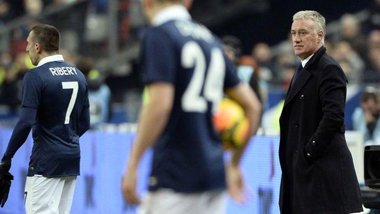Didier Deschamps s'appuiera sur Ribéry au Mondial (FRANCK FIFE / AFP)