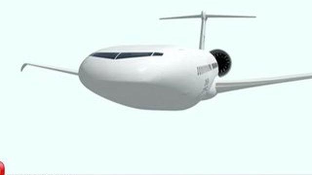 Nova, l'avion du futur présenté au Salon du Bourget
