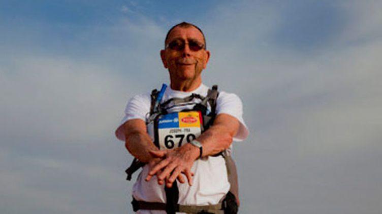 (Joseph Le Louarn s'apprête à courir son huitième marathon. © Marathon des sables 2011)
