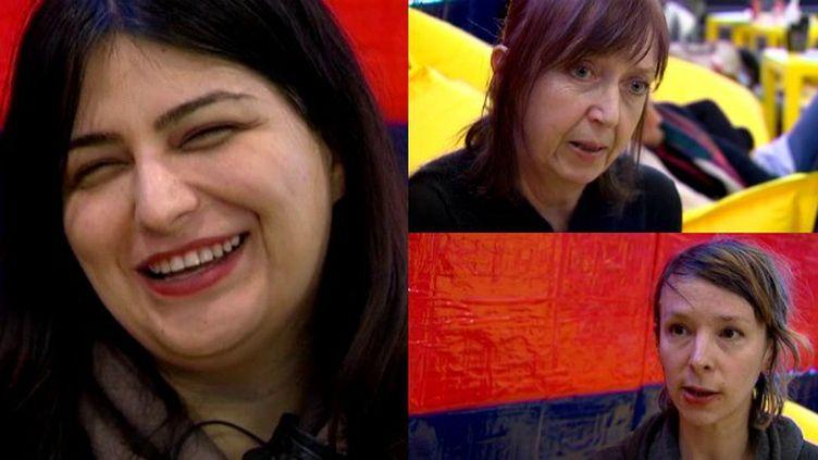 Rokhsareh Ghaem Maghami,Nine Antico etRosie Pedlow les trois femmes du jury Labo  (France 3 / Culturebox)