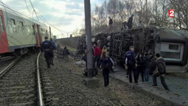 Belgique : un déraillement de train fait un mort et plusieurs blessés