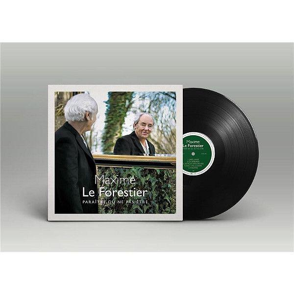 """""""Paraître ou ne pas être"""", le nouvel album de Maxime Le Forestier. (UNIVERSAL)"""