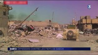 La ville de Mossoul est en ruines. (FRANCE 3)