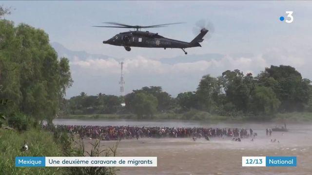 Mexique : une deuxième caravane de migrants arrive