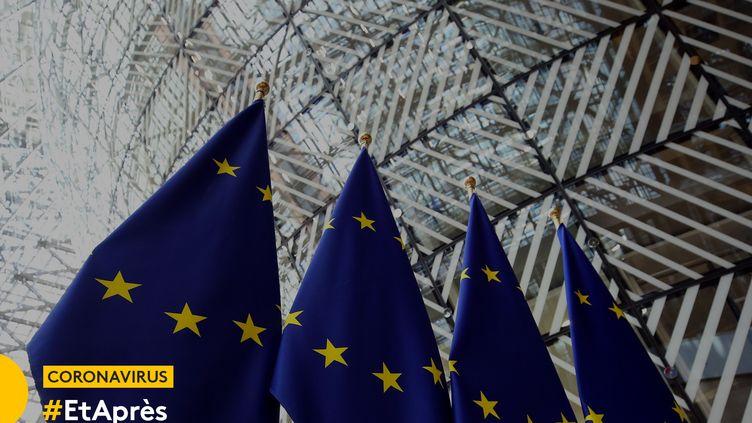 Le siège de la Commission européenne à Bruxelles. (DURSUN AYDEMIR / ANADOLU AGENCY / AFP)