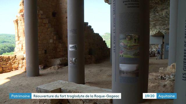 Périgord : le fort troglodytique de La Roque-Gageac rouvre après dix ans de travaux