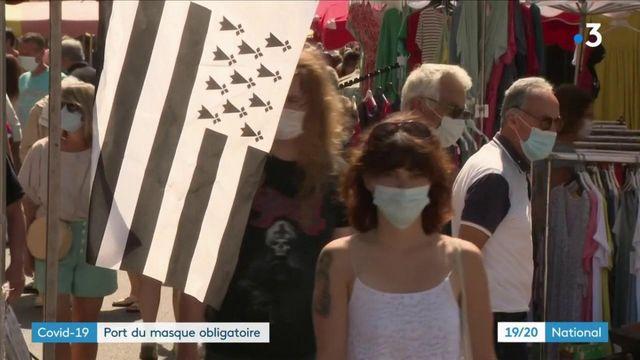 Coronavirus : port du masque obligatoire à partir du lundi 20 juillet