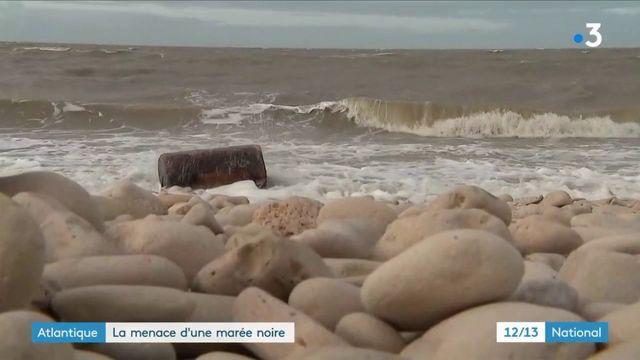 Atlantique : la menace d'une marée noire
