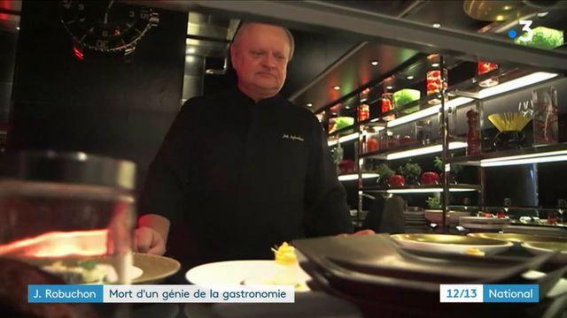 Mort de Joël Robuchon, génie de la gastronomie