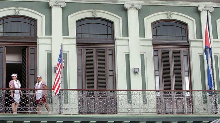 (Cubains et Américains vont concrétiser leur nouvelle entente avec une première réunion de haut niveau mercredi à La Havane © MaxPPP)