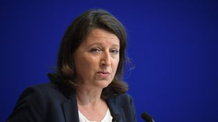Agnès Buzyn, lors de la présentation de son plan pour les urgences, à Paris, le 9 septembre 2019. (ERIC FEFERBERG / AFP)