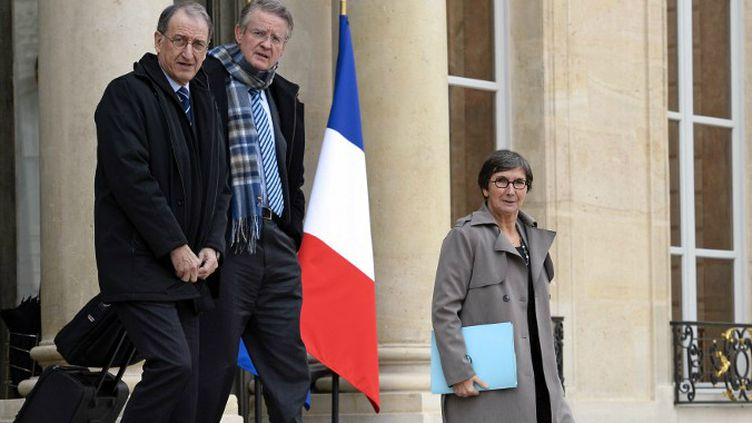 Denis Masseglia, Bernard Lapasset et Valérie Fourneyron.