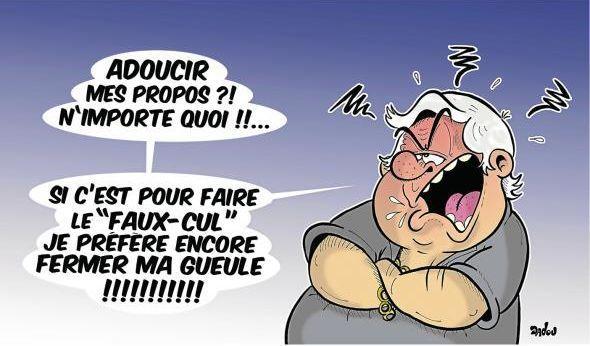 Le franc-parler de Louis Nicollin vu par Dadou  (Dadou)