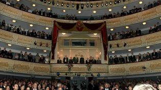 Le théâtre royal de Madrid  (Guillen-Pool / Sipa)