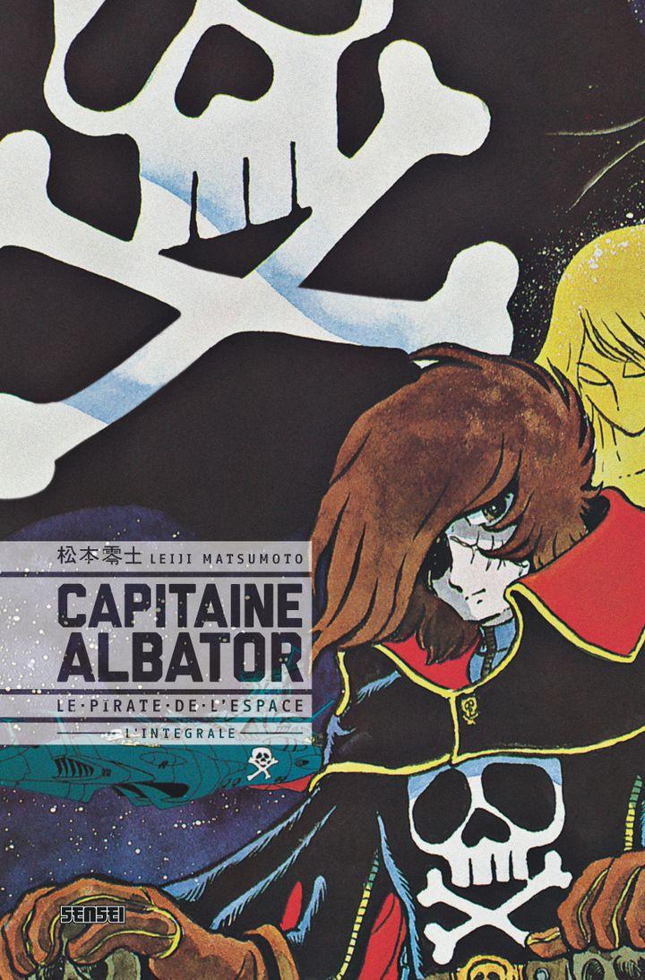 """La couverture de l'intégrale de """"Capitaine Albator, le pirate de l'espace"""" signée du Japonais Leiji Matsumoto et disponible en France aux éditions Kana. (LEIJI MATSUMOTO)"""