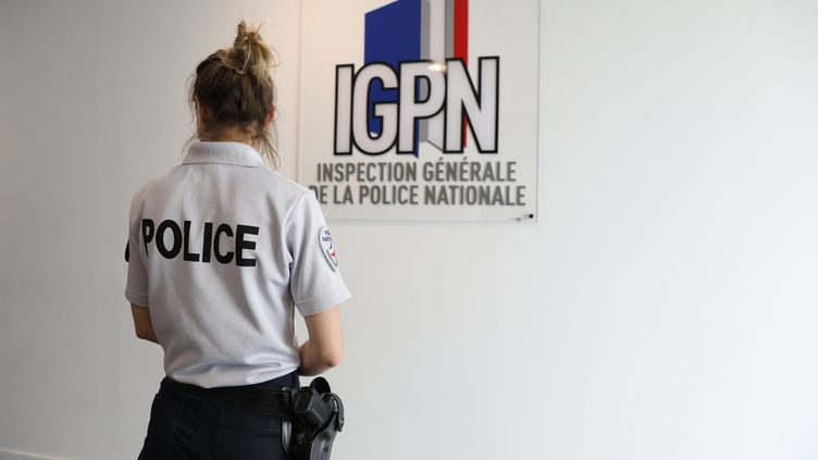 Illustration au siège de l'IGPN, dans le 20ème arrondissement de Paris, le 21 juin 2018. (YANN FOREIX / MAXPPP)