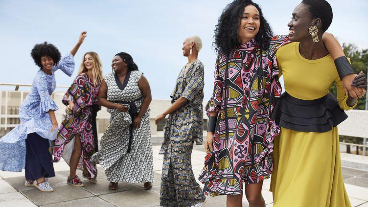 La collection Mantsho x H&M est le résultat de la première collaboration africaine de la marque suédoise. Elle est signée par la styliste sud-africainePalesa Mokubung. (H&M)