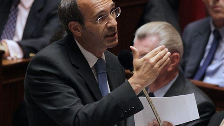 Le ministre du Travail Eric Woerth à l'Assemblée, le 7 septembre 2010. (AFP - Jacques Demarthon)