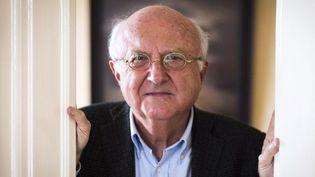 Vladimir Cosma chez lui en 2014  (LIONEL BONAVENTURE / AFP)