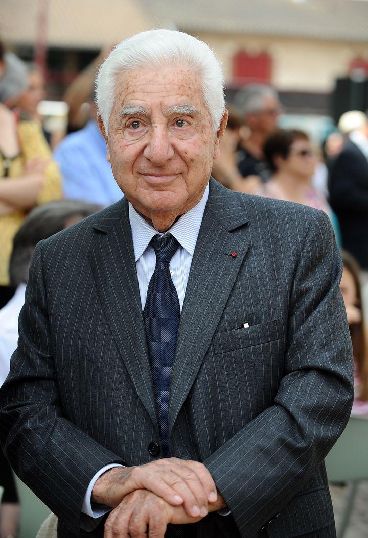 Le maire de Pamiers, André Trigano, en juin 2015. (REMY GABALDA / AFP)