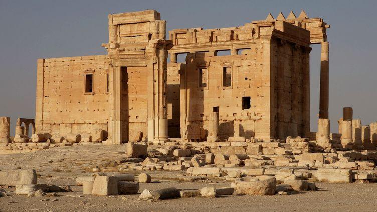 Le temple de Bêl à Palmyre  (Manuel Cohen / AFP)