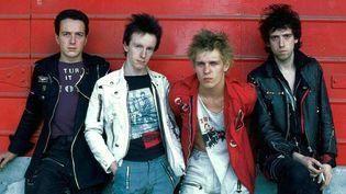 The Clash : Joe Strummer, Topper Headon, Paul Simonon et Mick Jones.  (Adrian Boot/SIPA/AP/SIPA)