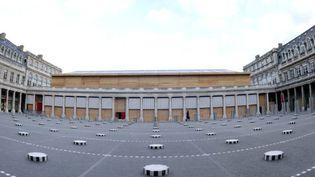 Le Théâtre Ephémère de la Comédie-Française (6/1/2012)  (Bertrand Guay / AFP)