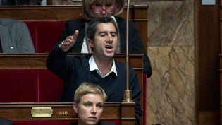 François Ruffin, député de La France insoumise à l'Assembkée nationale, le 11 octobre 2017 (NICOLAS MESSYASZ / SIPA)