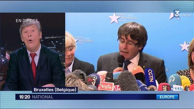 """Catalogne : Carles Puigdemont veut se """"livrer à la vraie justice"""""""