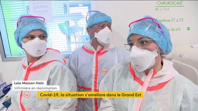 Coronavirus : la situation s'améliore dans le Grand Est
