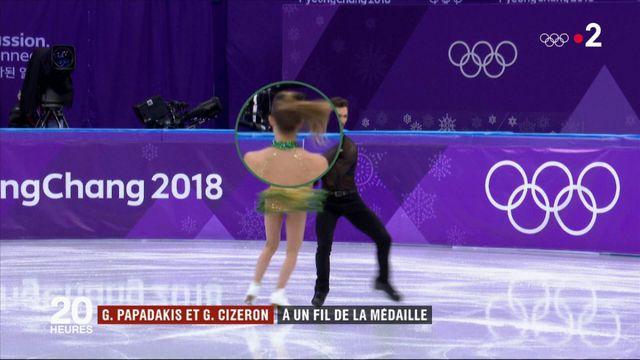 J.O.-2018 : la mésaventure des patineurs français Papadakis et Cizeron