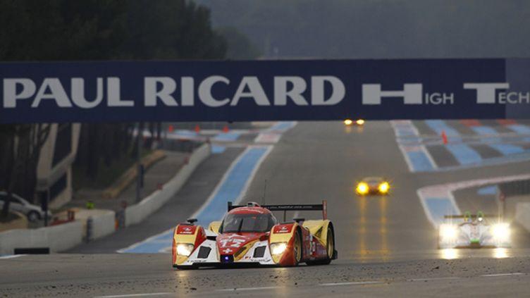 La Lola-Toyota du Rebellion Racing en essais Le Mans Series au Paul Richard (JEAN MICHEL LE MEUR / JEAN MICHEL LE MEUR)