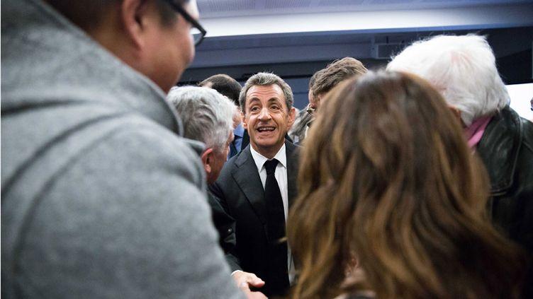 (Nicolas Sarkozy, le 9 janvier 2016. © MaxPPP)