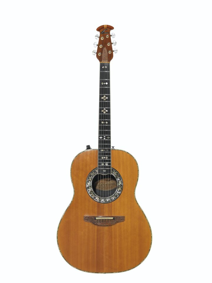 OVATION INSTRUMENTS, NEW HARTFORD, 1976 AN ACOUSTIC-ELECTRIC GUITAR, CUSTOM LEGEND, 1619-4 (CHRISTIE'S - THE DAVID GILMOUR GUITAR COLLECTION)
