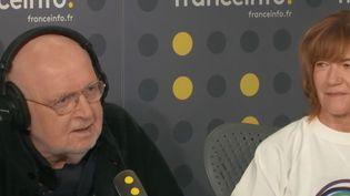 Isabelle Clarke et Daniel Costelle étaient les invités de franceinfo lundi 4 novembre 2019. (FRANCEINFO / RADIO FRANCE)
