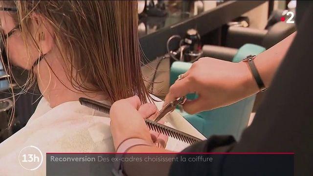 Reconversion : quand des cadres deviennent coiffeurs