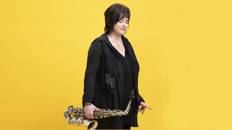 La saxophoniste Géraldine Laurent (2019) (Anthony Voisin)