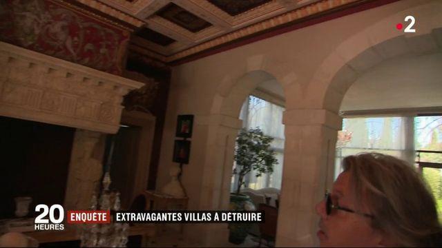 En France, des propriétaires construisent d'extravagantes villas en toute illégalité