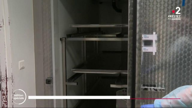 Coronavirus : Rungis transformé en morgue