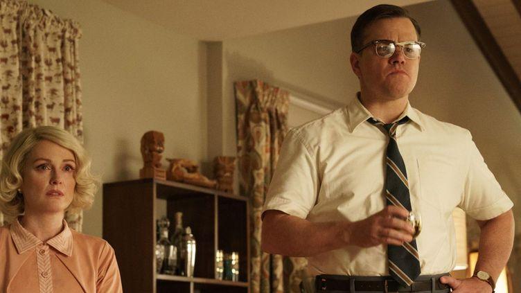 "Julianne Moore et Matt Damon dans ""Bienvenue à Suburbicon"" de George Clooney  (2017 Concorde Filmverleih GmbH / Hilary Bronwyn Gayle)"