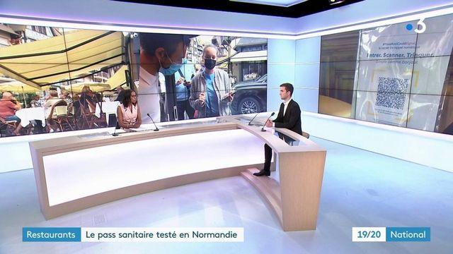 Calvados : le pass sanitaire testé dans les bars et restaurants