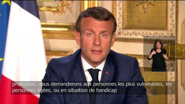 """""""Nous allons continuer d'augmenter le nombre de tests"""", promet Emmanuel Macron"""