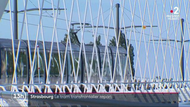 Strasbourg : le tramway transfrontalier avec l'Allemagne redémarre