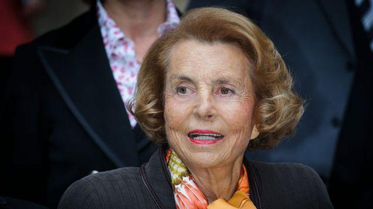 (Liliane Bettencourt, l'une des femmes les plus riches du monde, à la tête de l'empire L'Oréal. Elle est au coeur du procès de l'affaire Bettencourt © MaxPPP)