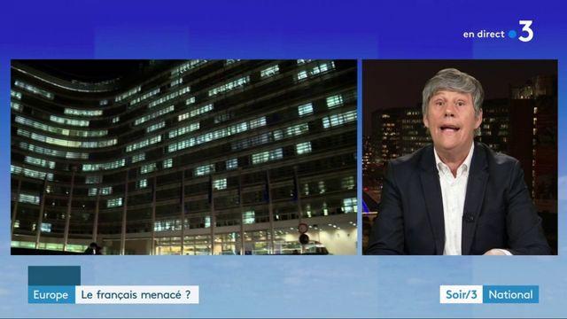 Europe : le français menacé à Bruxelles ?
