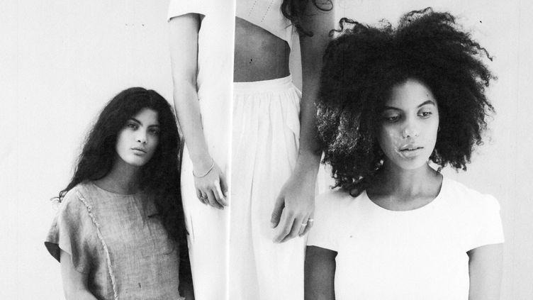 Les jumelles Ibeyi se produisaient vendredi aux Vieilles Charrues 2016  (Sophie Wright)