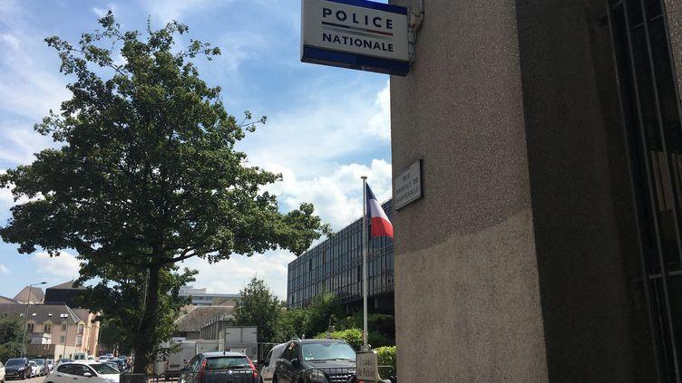 L'hôtel de police de Rouen, en Seine-Maritime. (MARIE ROUARCH / RADIO FRANCE)