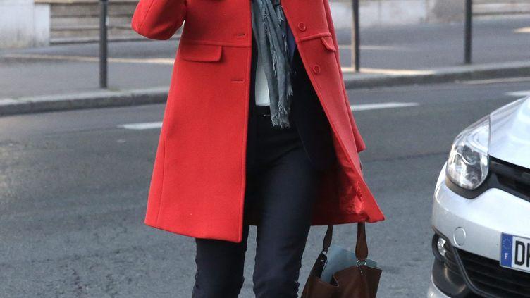 Valérie Pécresse arrive au siège des Républicains, le 10 octobre 2015 à Paris. (MAXPPP)